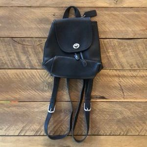 Coach Vintage Women's Black Backpack Purse
